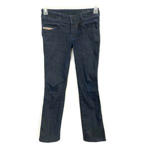 Diesel Rokket Dark Wash Slim Straight Leg Jeans